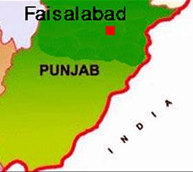Five dead in Faisalabad firing