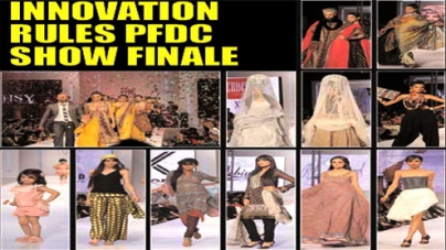 Innovation rules PFDC show finale