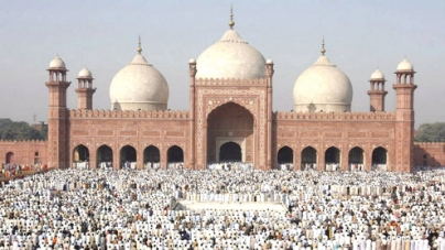 Badshahi Mosque-The Red Mosque made by The Mughals
