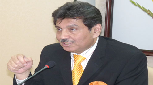 Company alleges Faisal Saleh demanded bribes