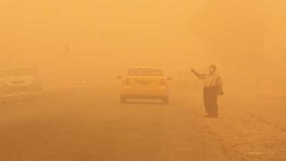 Dust storm shuts Baghdad airport ahead of nuclear talks