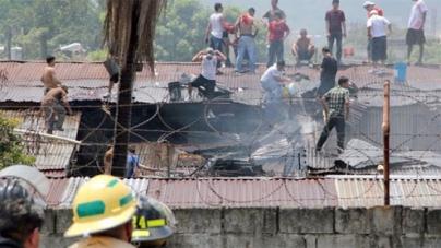 Honduras prisoners riot at jail in San Pedro Sula