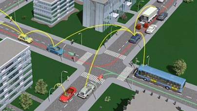 Cars can now talk to each other to avoid accidents