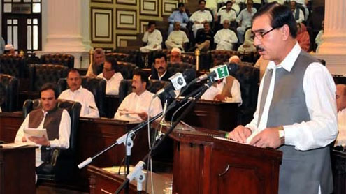 Rs 300b KP budget presented