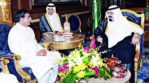 King, Pak premier review ties