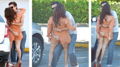 Scott Disick wildly squeezes Kourtney Kardashian's peachy bottom