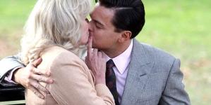 Joanna Lumley, 66, grins after locking lips with Leonardo DiCaprio, 38