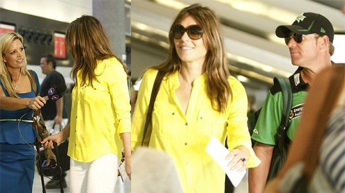 Elizabeth Hurley Loses Temper Over Reporter Who Asked About Shane Warne