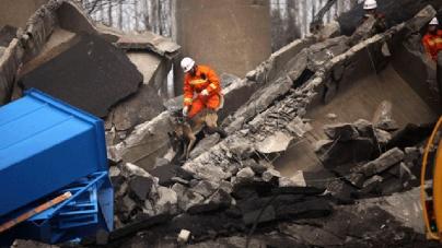 Bridge Collapse in remote Japan atoll