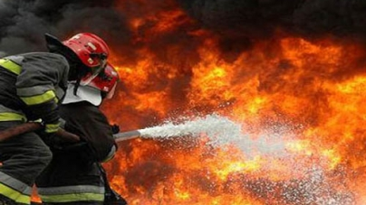 Fire in Faisalabad Chemical Godown Doused