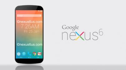 Google Nexus 6 Getting ready to roar