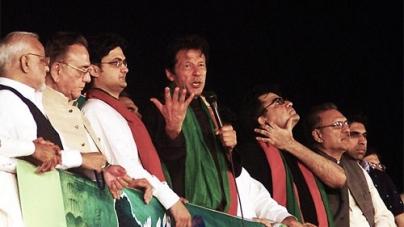Accountability Scared Nawaz, Zardari into Alliance: Imran Khan