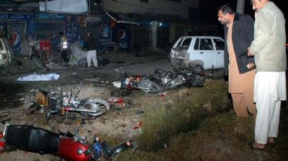 Blast Outside Karachi imambargah Kills Girl