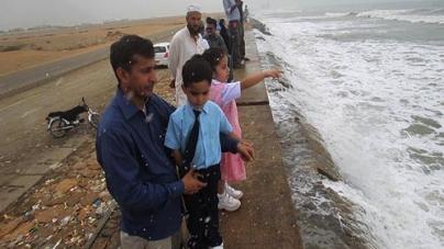 Eye of Cyclone Nilofar Will Pass Near Karachi Coast