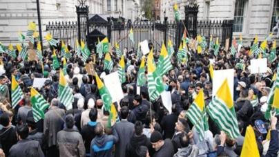 London March Highlights Kashmir Issue