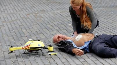 Ambulance Drone Save Life Flying Defibrillator Reach Speeds 60Mph