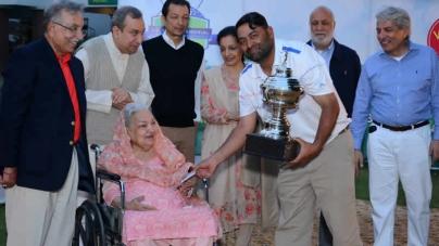 Shabbir wins 3rd J.A.Zaman Memorial Golf Title for 2016