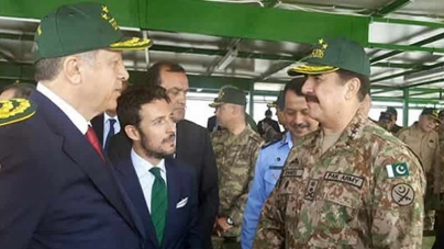 COAS Raheel Sharif Meets Turkish President