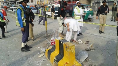 Policeman killed In Peshawar blast