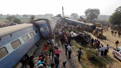 Train Goes Off Track In India; 119 killed
