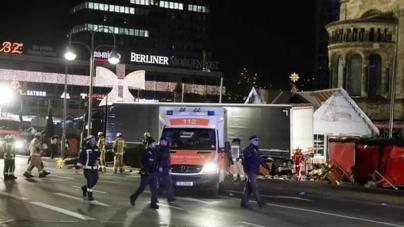 Twelve killed As Lorry Ploughs Into Berlin Christmas Market