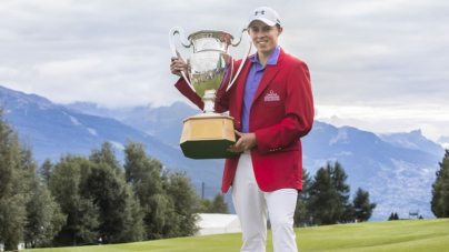Matthew Fitzpatrick wins the OMEGA European Masters 2017 in Crans-Montana, Switzerland