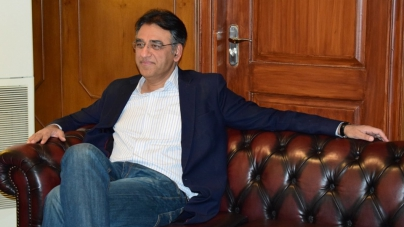 Asad Umar elected chairman of NA finance panel