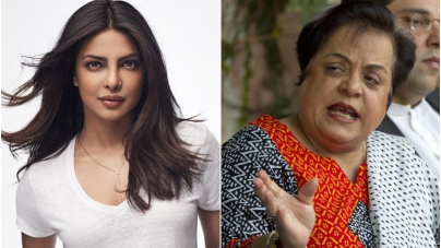 Shireen Mazari formally asks Unicef to remove Priyanka Chopra as goodwill ambassador