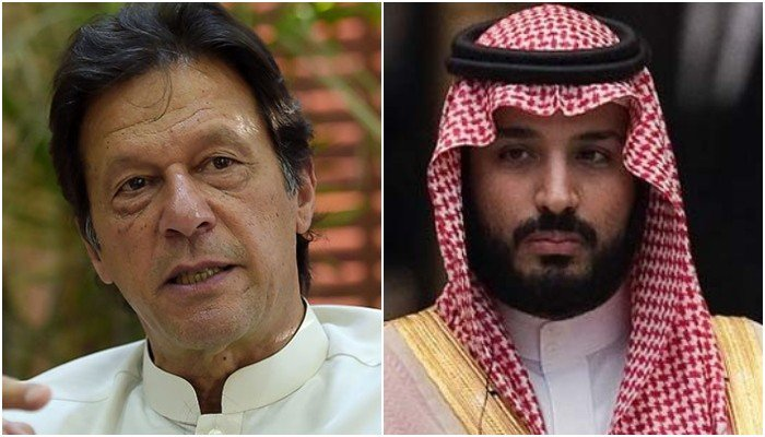 PM Imran Khan makes telephonic contact with Mohammed bin Salman