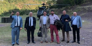 Diplomatic corps visits LoC, India Refuses rare Pakistan Invite