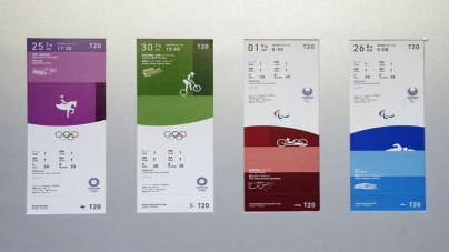 Summer Olympics: Tokyo 2020 Ticket Designs Unveiled