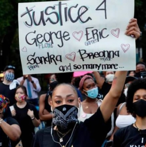 Officer Charged with Murder of Black American as Violent Protests Sweep US