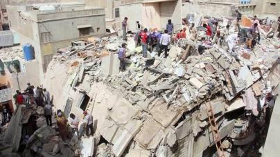 50 Feared Dead in Multi-storey Building Collapse in Lyari
