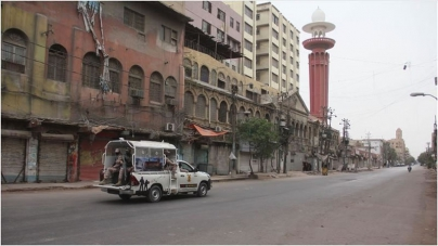 Sindh Health dept Seeks 'Curfew' in Karachi
