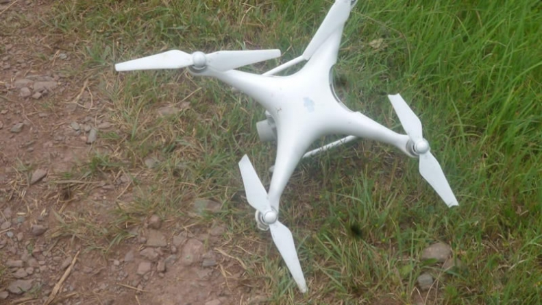 Pakistan Army Downs this year's 10th Indian Spying Quadcopter: ISPR