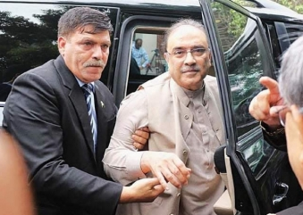 Zardari Indicted in NAB Case in Lawyer's Absence