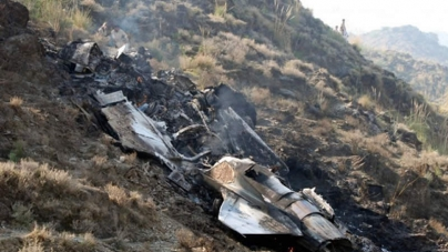 PAF Aircraft Crashes in Attock during routine Training Mission, Pilot Ejects Safely