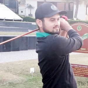Ahmed Baig and Arif Ali in front at Pakistan Open Golf Championship