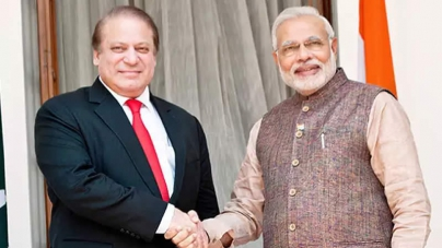 Indian PM offers Condolences to Nawaz Sharif on his Mother's Demise