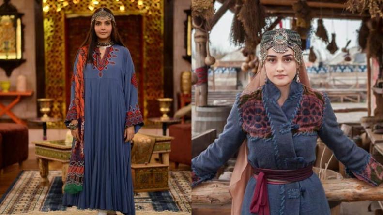 The internet trolls Nida Yasir for dressing up like an Ertugrul character