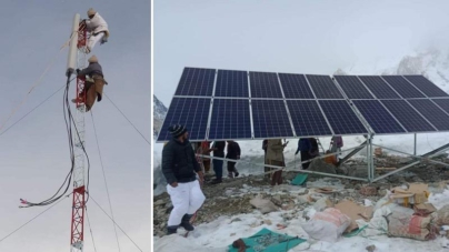Pakistan installs first-ever mobile phone tower at K2 base camp
