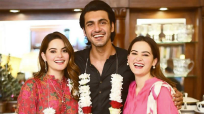 Aiman Khan lashes out at trolls Criticising Minal over Engagement