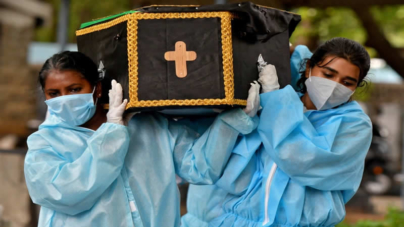 India sees 3,874 COVID deaths as data suggests runaway infections