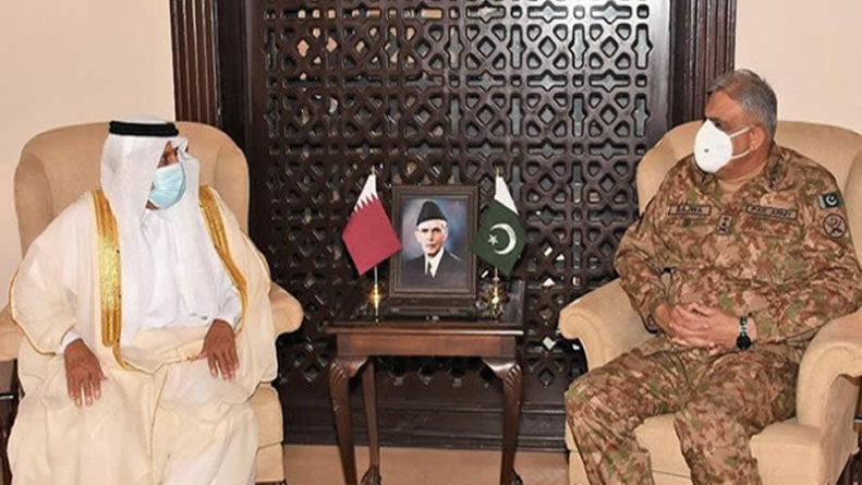 Qatari royal lauds Pakistan's role for conflict prevention in region